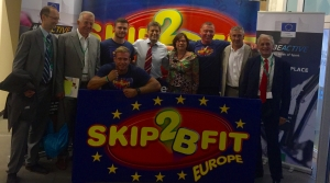 Skip2Bfit Visits the European Parliament in the European Week of Sport