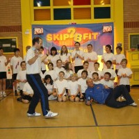 Karl Turner MP visits skip2bfit Skipping Workshops