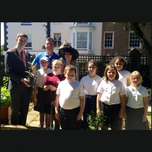 Skip2bfit visited by youngest ever mayor of Margate