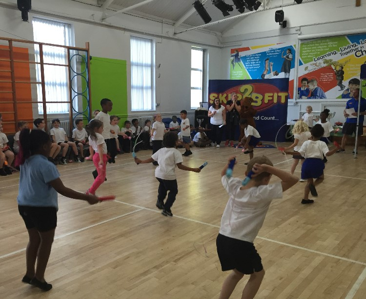 Skip2Bfit Skipping Workshop Day