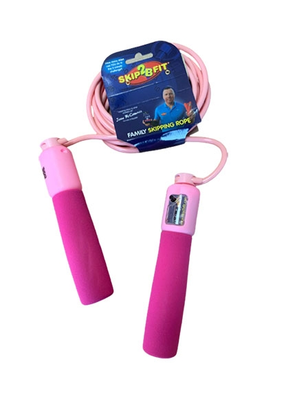 Skip2Bfit new professional rope pink