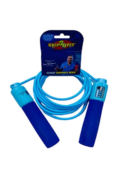 Skip2Bfit new professional rope blue