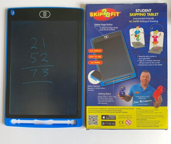 Skip2Bfit LCD Student Skipping Tablet
